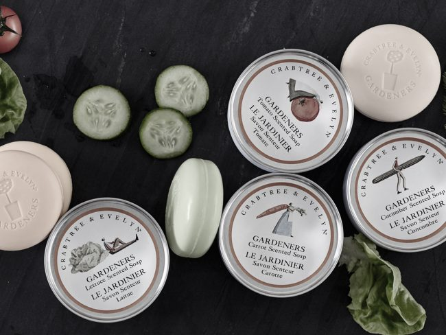 12 Crabtree and Evelyn Gardeners Range